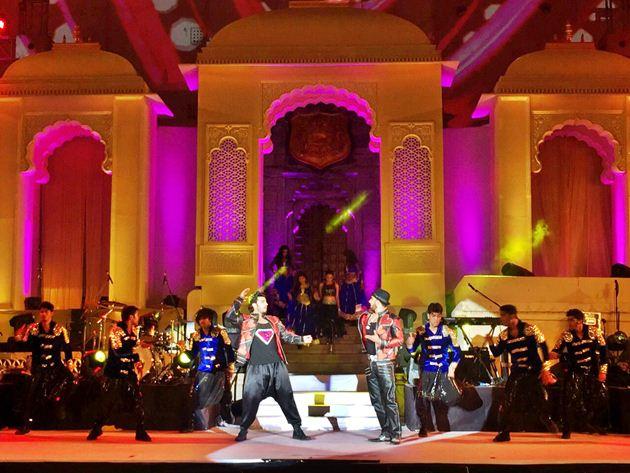 Jennifer Lopez & Nicole Scherzinger go live at Hinduja wedding in Udaipur