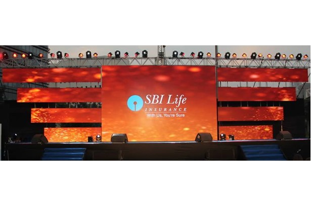 Video Waves provided services at 'SBI Life Insurance' event.