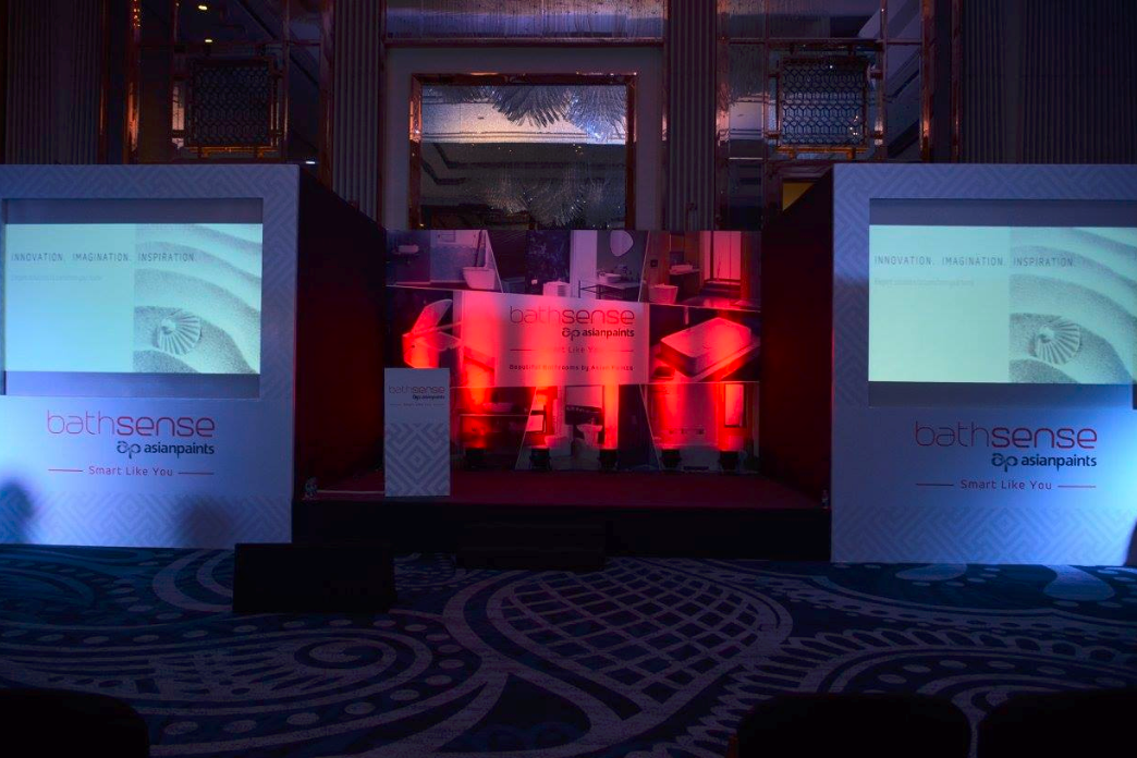 KG Movie provided services for Asian Paints event at JW Marriott Hotel Kolkata