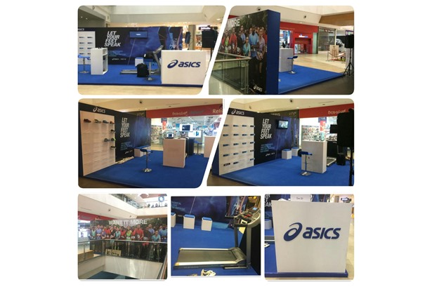 ASICS Store launch promotional activity from 29th to 31st December'16