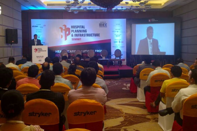 Hospital Planning & Infrastructure Summit, Nagpur successfully executed by Young Mirchies!!