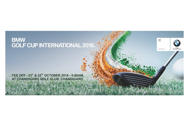 BMW Golf Cup International 2016 in Chandigarh on 21st  and 22nd October, 2016.