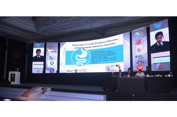 Video Waves provided Sound, Light, AV & Fabrication for Asian EUS, an International Medical Conference, at the Renaissance Powai.