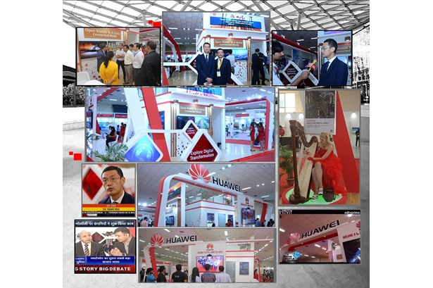 Concepts & Solutions Event Services executed Huawei experience zone at Pragati Maidan