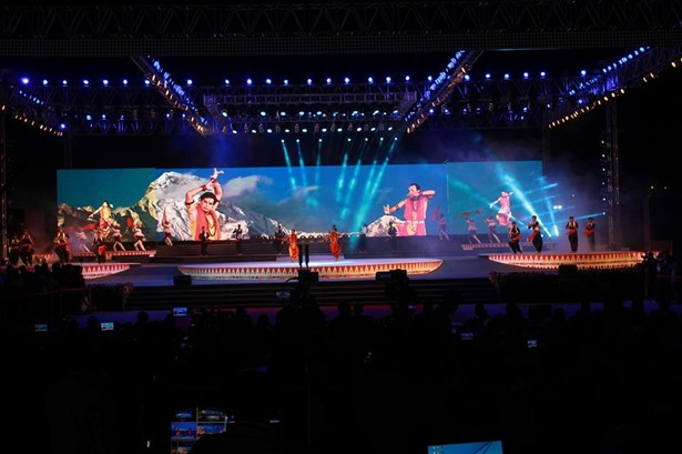 Bestt Sound System provided services at Vibrant Navratri 2017 for GMDC(Gujarat Mineral Development Corporation) in Ahmedabad