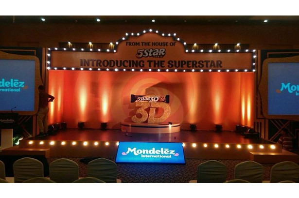 KG Movie provided services for Mondelez Event at Hotel Hindusthan International in Kolkata.