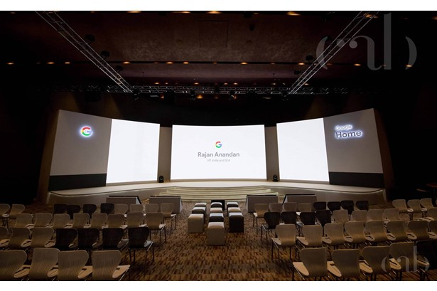 Lalit Art Studio did the event production for Google Home Launch Event