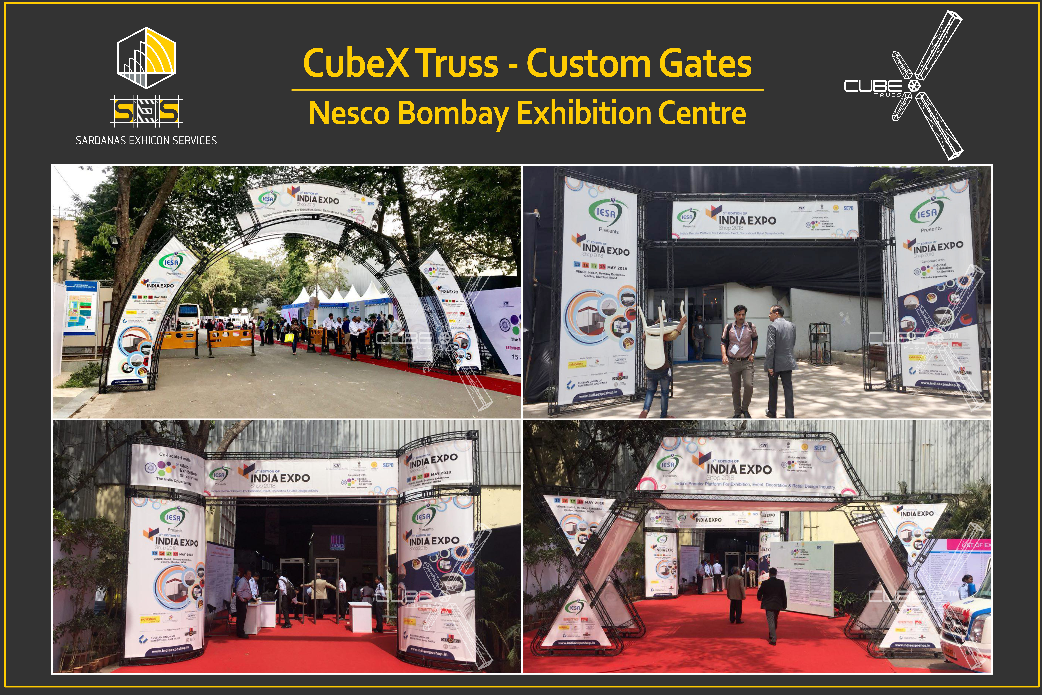 Innovative Entry Gates by CubeX Truss