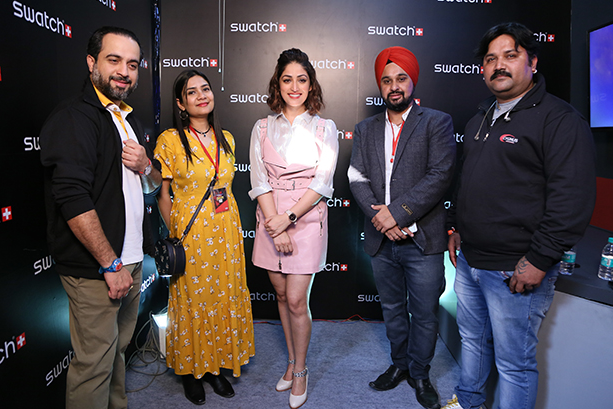 Cygnus Communications executes brand connect activity for Swatch from 7th to 9th December at Comic-Con, Delhi
