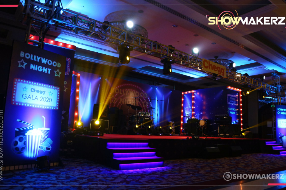 Bollywood Themed Annual Day Event - Designed and Executed by Showmakerz