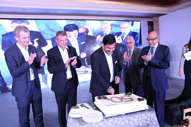 "SHOWMAKERZ CURATES ""50 YEARS CELEBRATION"" FOR VOITH PAPER FABRICS INDIA LTD."