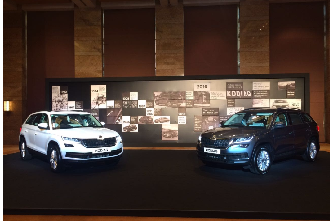 TPT Productions extended Fabrication and Setup services, towards SKODA KODIAQ launch, to CAB Events