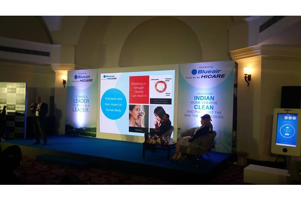 Host venue for 'Hicare Blueair India' event.