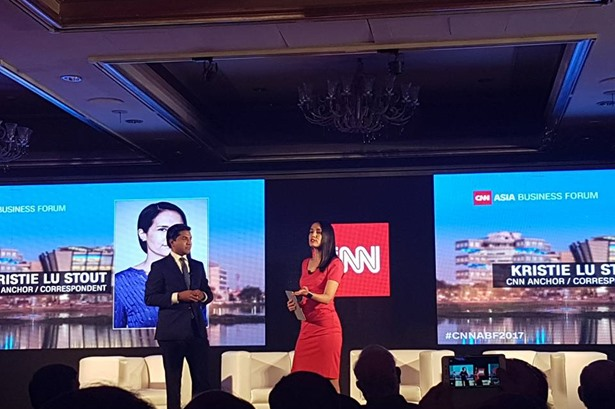 Host venue for 'CNN Asia Business Forum 2017' event.
