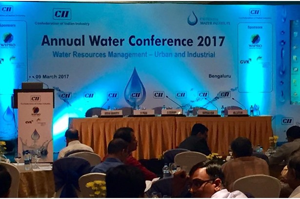 Host venue for 'CII Annual Water Conference 2017' event.