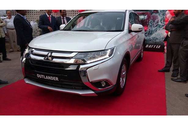 Host venue for Mitsubushi Outlander pre-launch display event for dealers.