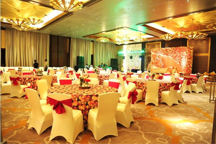 White water events uses a mix of contemporary for Decor international delhi