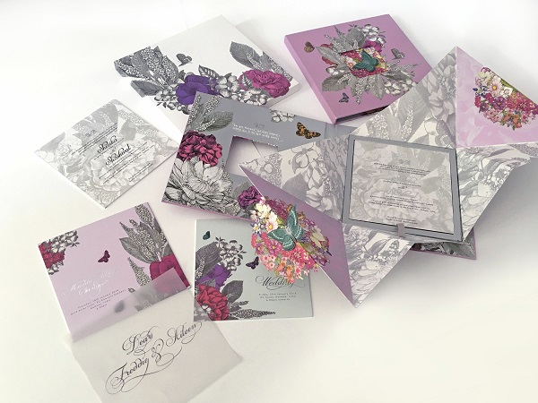 A Chic Vintage Floral Invite By Ys Design Studio India News
