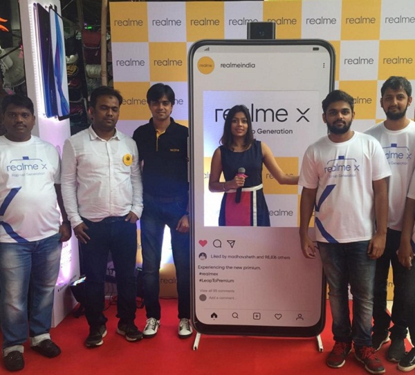 AweGust Manages and Executes Product Launch for Realme
