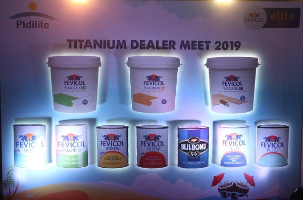 Awegust Partners With Pidilite To Present The Fevicol Elite Club S Titanium Dealers Meet 2019 India News Updates On Eventfaqs