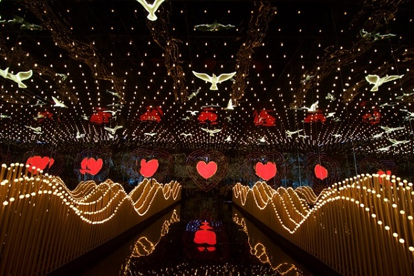 gmr grounds witnesses a dazzling sangeet function designed by