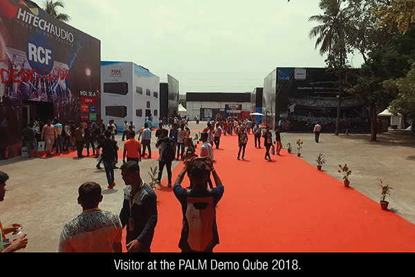 Palm Resounds With Surge In Visitors From Stage Sound and Lighting
