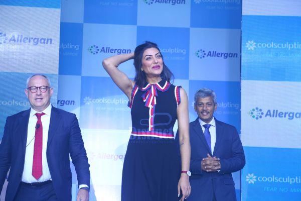 Sushmita Sen Unveils Allergan Coolsculpting at Taj Lands End
