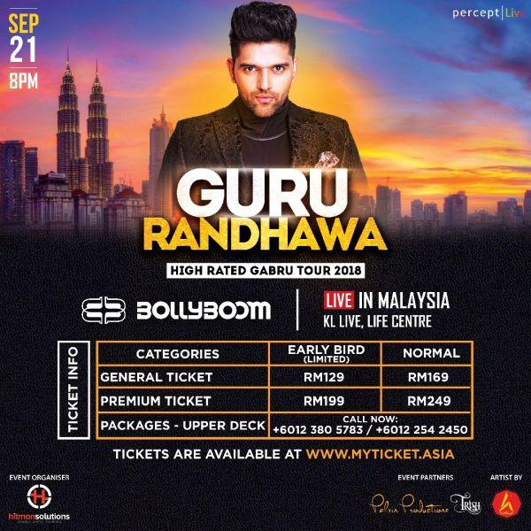 Bollyboom Goes International with Guru Randhawa's Debut Show